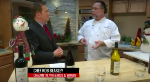 fox 2 news, serving wine during holidays, holiday wine pairings