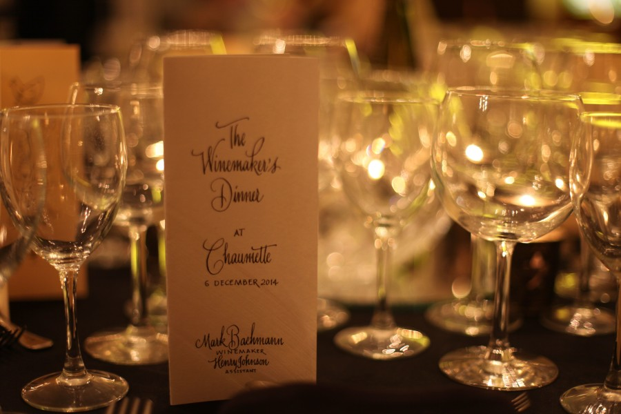 Our Annual Winemaker's Dinner