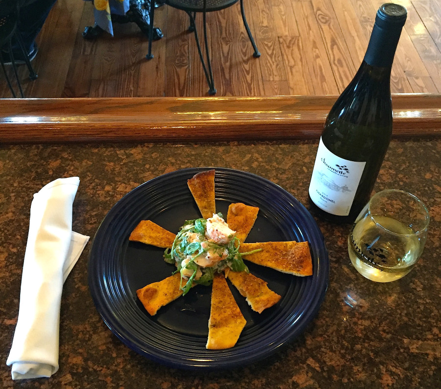 Chef Rob's Chardonel-Poached Shrimp Salad