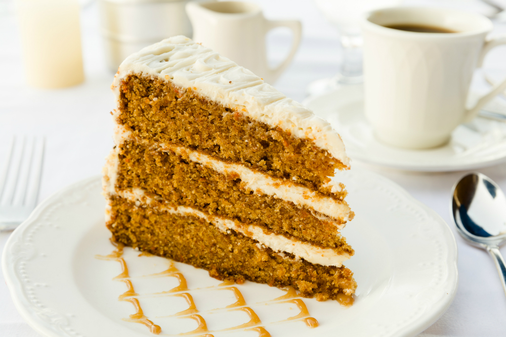 carrot cake, chaumette winery, winery restaurant