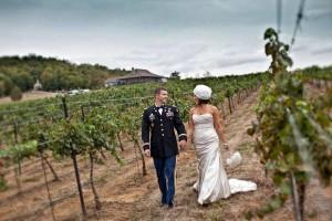 chaumette wedding veteran memorial day