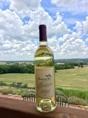 unoaked chardonel, chaumette winery