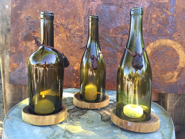 7 Diy Wine Bottle Decor Ideas Chaumette Vineyards Winery